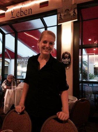 Austrian-German Restaurant: Madison the best waitress ever!!