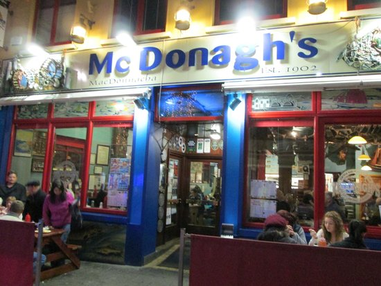 McDonagh's: Easy to find