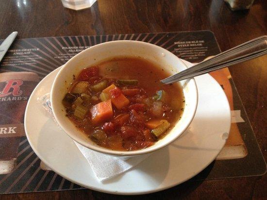 Bistro Cafe & Cucina: Home made soup
