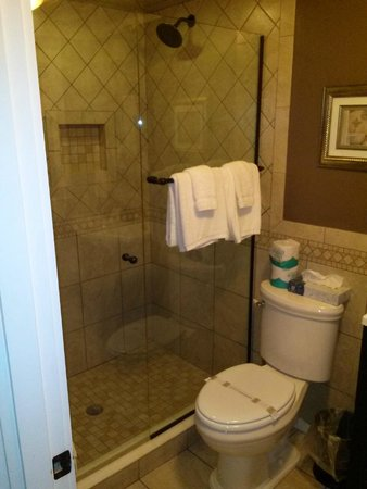 Captain's Quarters: Bathroom