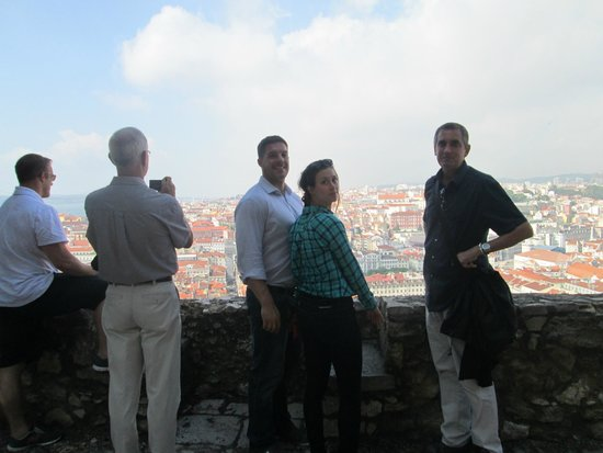 Lisbon Explorer Private Tours : Our Group with Paolo