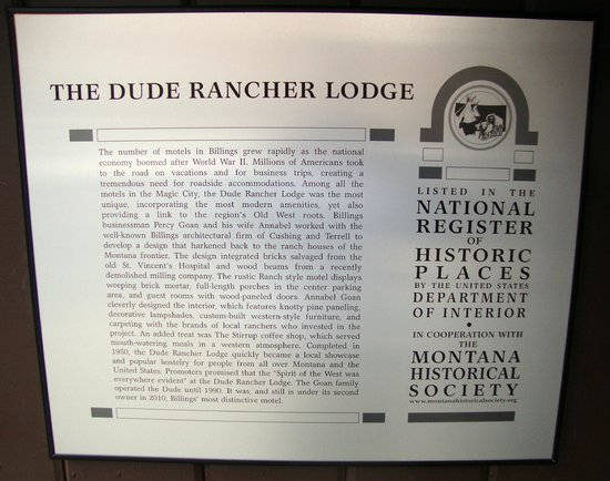 Historical Dude Rancher Lodge!