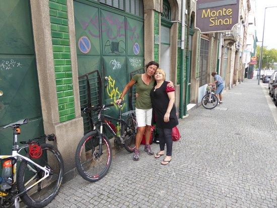 Hospedaria Monte Sinai: con la sig. Fernanda