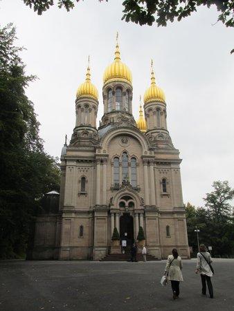 Walking Wiesbaden: We even walked on Russian soil w/Susan.