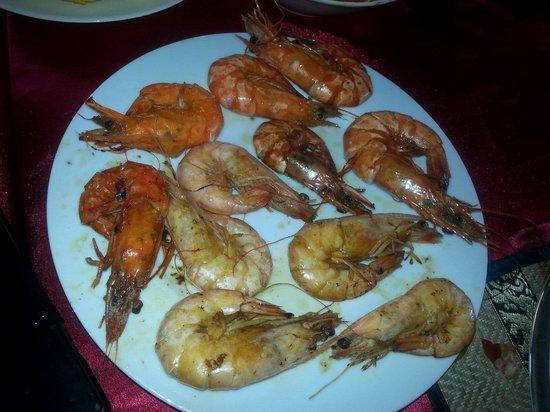 Red Lobster Tours Spa & Restaurant: Krewetki