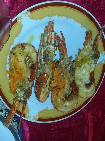Red Lobster Tours Spa & Restaurant: Lobstery :-)