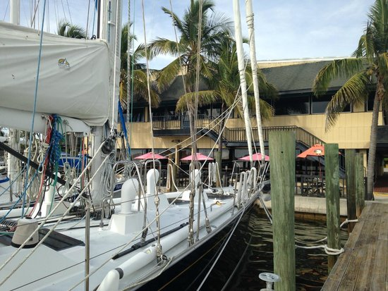 Seafood Shack: View from the Dock