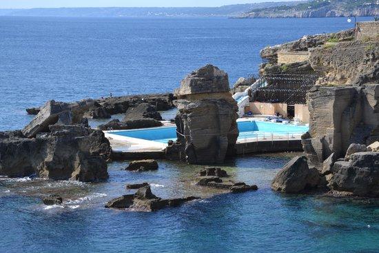 Panoramica picture of bagno marino archi santa cesarea - Bagno 19 santa cesarea terme ...