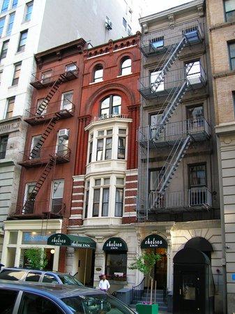 Chelsea Inn - 17th Street : the facade