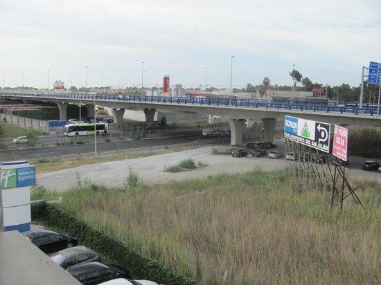 Holiday Inn Express Malaga Airport: Zimmeraussicht