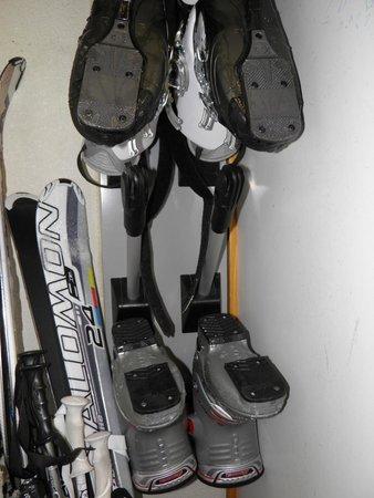 Residence Chalet des Neiges Cime des Arcs : casier a skis