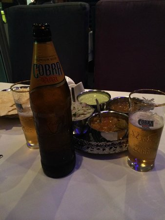 Shah Tandoori: We probably could have drank 5 of these by the time we got our food, but it was worth the wait!