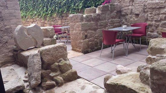 Hotel La Freixera: Comedor exterior