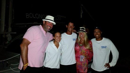 Bolongo Bay Beach Resort: Crew of the Heavenly Days