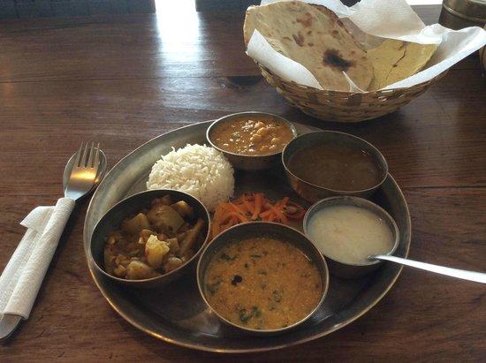 MoonPeak Thali: That famous veg thali