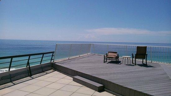 Panoramic View Picture Of Edgewater Beach Condominium