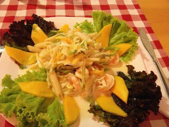 O Capo Restaurant : Salada O Capo.