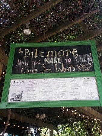 Biltmore Grill: The sign to look for.