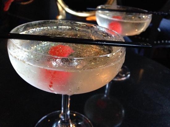 Velvet: a Glitterball - the signature cocktail