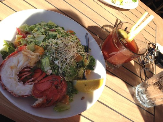 The Mooring : Chopped Salad w/Lobster