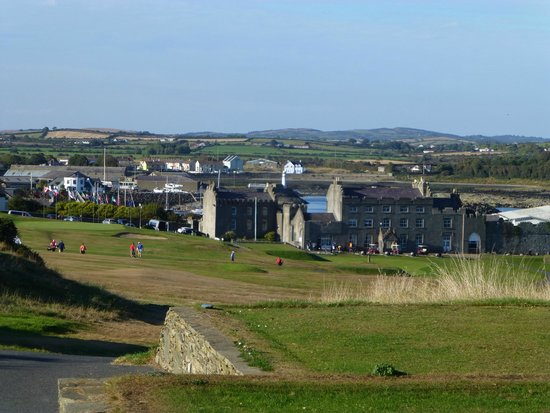 Ardglass Golf Club: clubhouse from 18th tee
