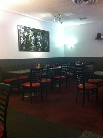 Viet Thai Restaurant : Dining area