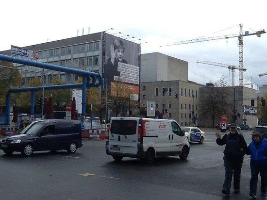 Unter den Linden: Улица во время ремонта