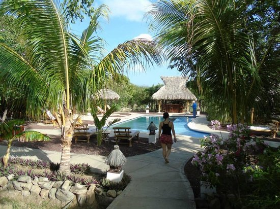 Hotel Popoyo : Vista da piscina