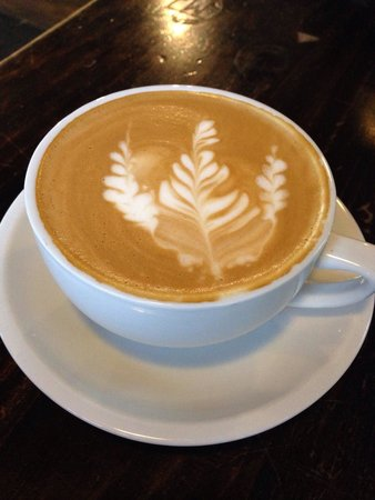 Kudu Coffee & Craft Beer: Ginormous cappuccino - ded check your size when ordering.