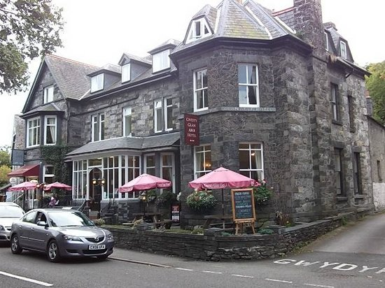Gwesty Glan Aber Hotel: View from outside