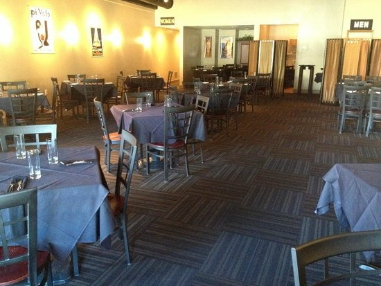 August Bistro and Bar: The dining room.