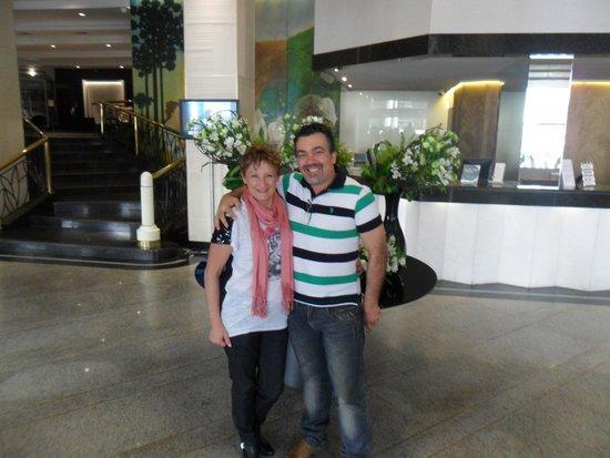 Bourbon Curitiba Convention Hotel: Recepção