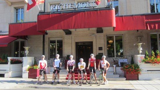 Le Richemond, Geneva Dorchester Collection : twowheeltours at le Richemond