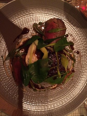 Sixtyone Restaurant: Rump of Beef with sea vegetables