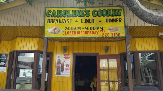 Caroline's Cookin': THE BEST PLACE TO EAT IN SAN PEDRO, AMBERGRIS CAYE.