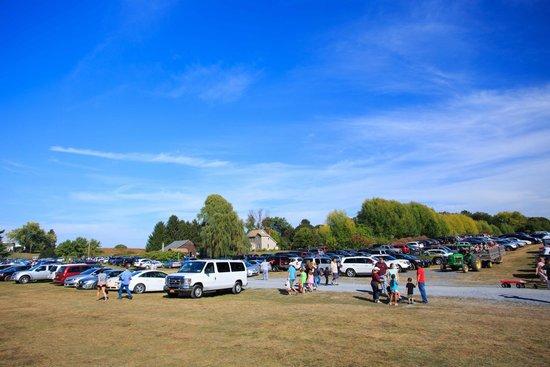 DuBois Farms: Parking Lot