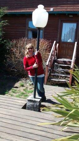 Hosteria Hainen: jardin interno