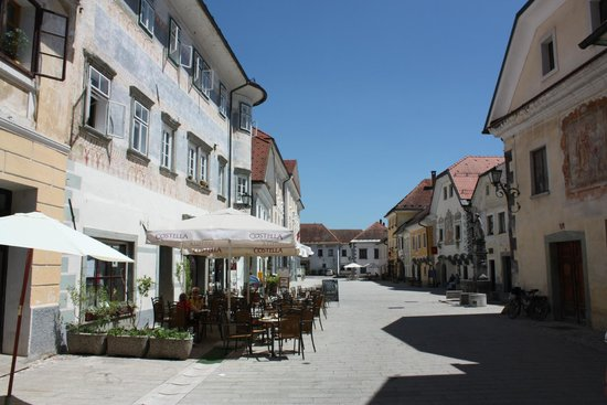 Radovljica Old Town: Another view of the main street