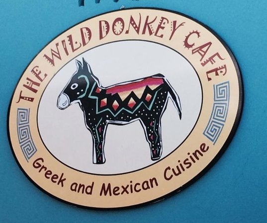 The Wild Donkey: Wild but civilized and definitely Greek!