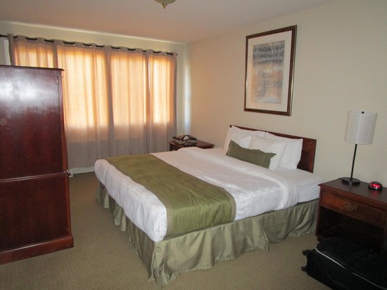 Hotel Dorval - Beausejour Apartments: bedroom - room 201