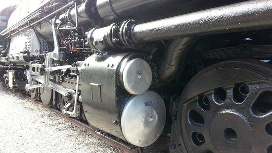 Museum of Transportation: Dwarfed by the Big Boy Steam Engine