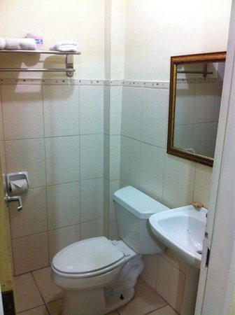 Airport Suites Hotel : Bathroom