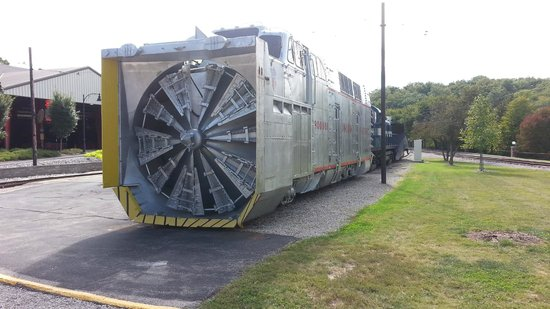 Museum of Transportation: A Union Pacific Rotary Plow... WOW