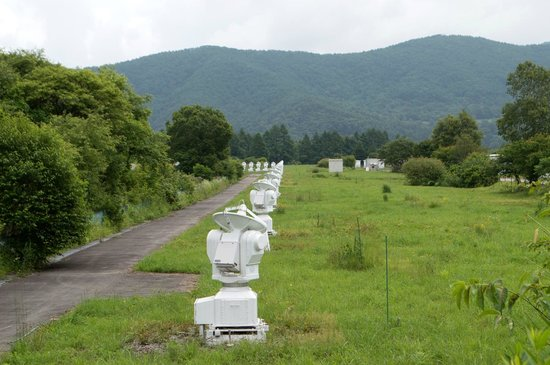 電波望遠鏡 - 南牧村National Astronomical Observatory of Japan Nobeyama的 ...