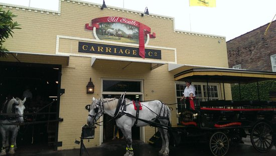 Old South Carriage Company: The barn for Old South Carriage Co.