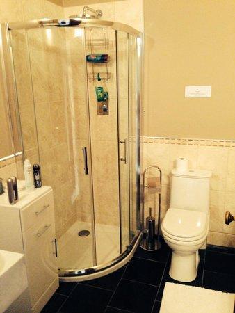 Crossmichael, UK: Shower