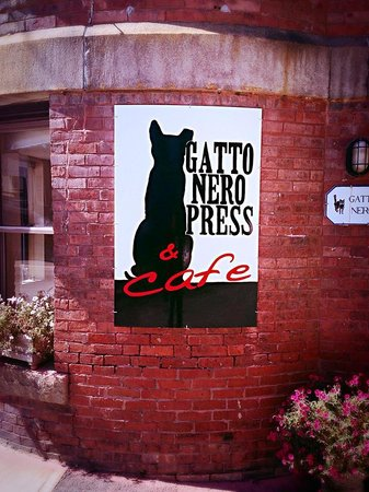 Cafe at Gatto Nero Press