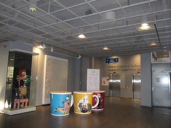 Arabia Factory Shop : ムーミンカップのオブジェ