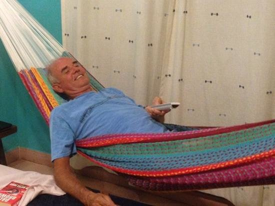 hotel marionetas: try the mayan hammock
