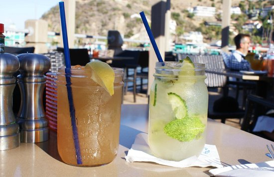 Bluewater Avalon Seafood Restaurant : The Avalon Ice Tea packs a punch